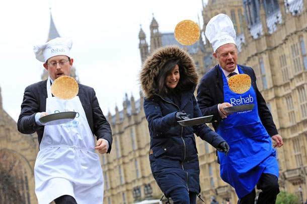 Pancake race London